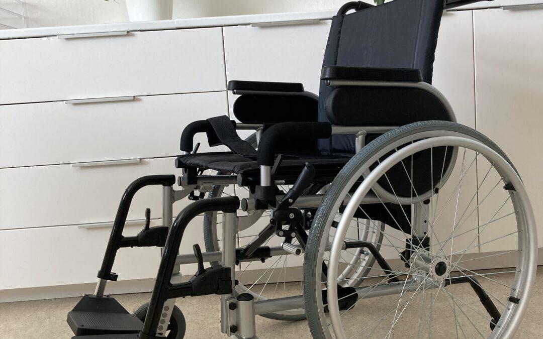 Nové invalidní vozíčky
